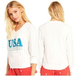 WILDFOX All the Way Baggy Beach Pullover
